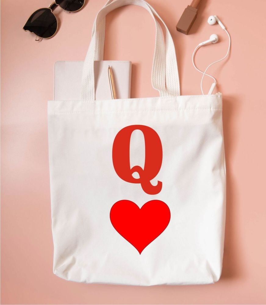 Queen of Hearts Tote