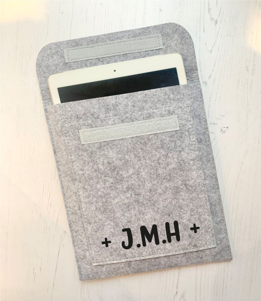 Initials Ipad Case
