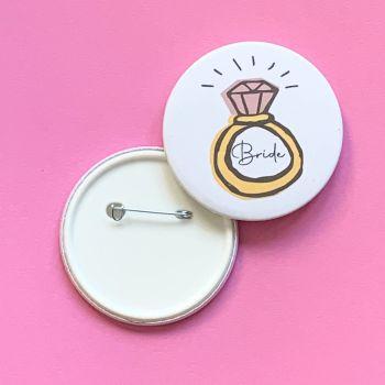 Bride Ring Badge