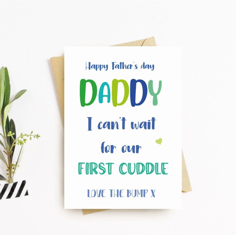 Daddy Card from the Bump