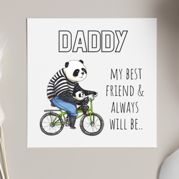 Panda Daddy Card