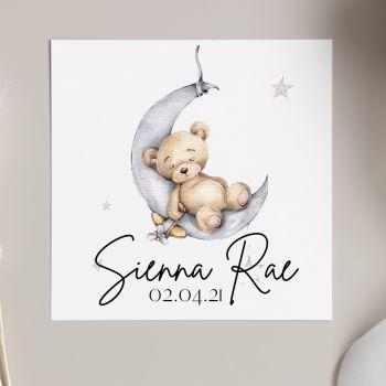 Baby Moon Card