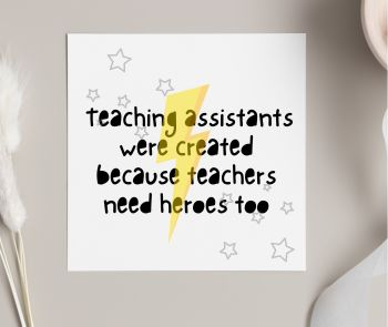 TA Heroes Card