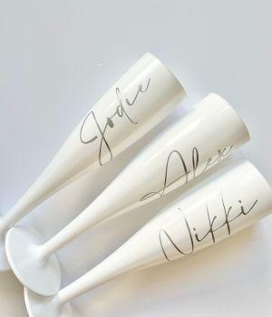 Amalfi White Flutes
