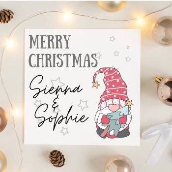 Merry Christmas Gonk Card