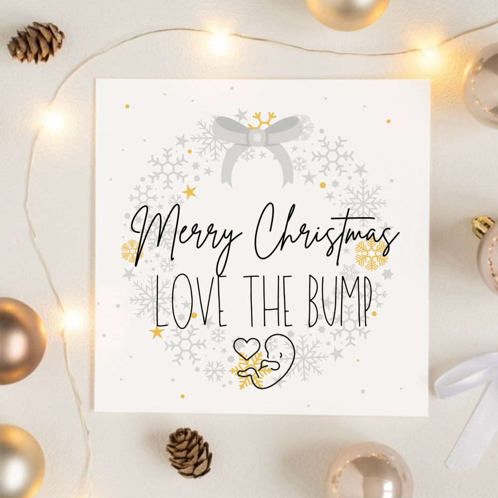 Happy Christmas From the Bump