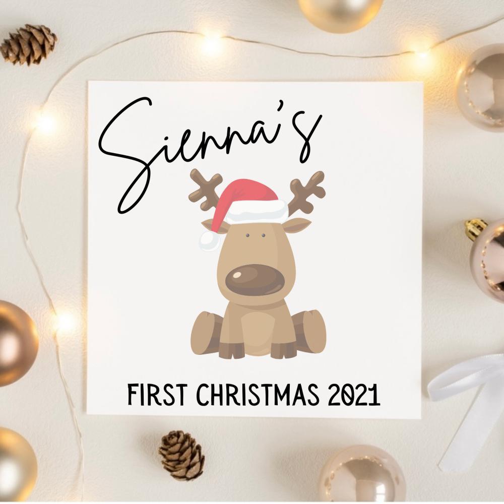 Baby First Xmas - Reindeer