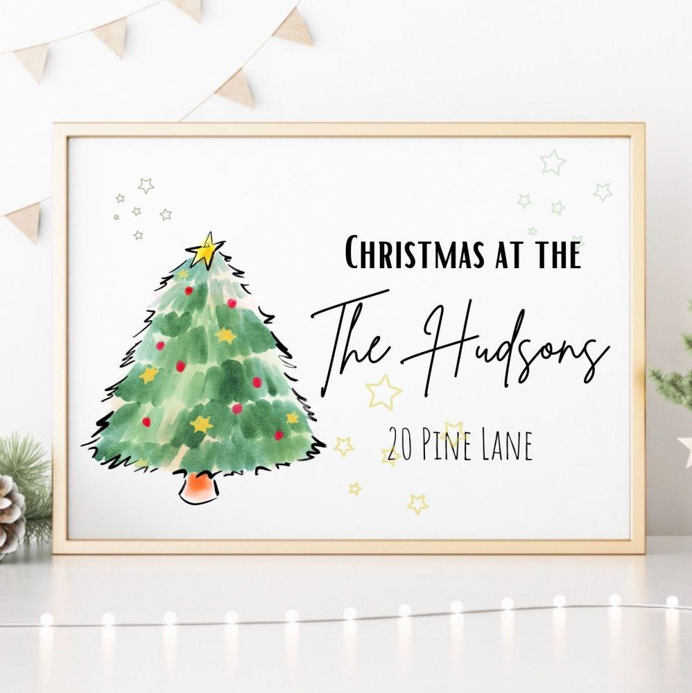 Christmas at the... Print