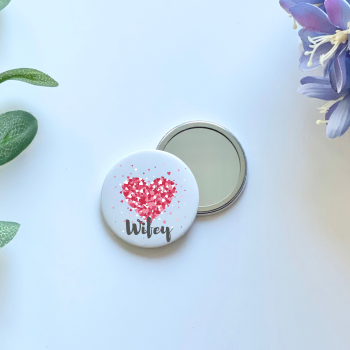 Wifey Compact Mirror