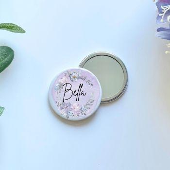 Lilac Florals Mirror