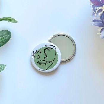 Face Pocket Mirror