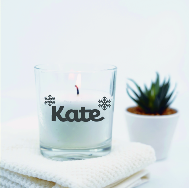 The Snowflake Candle