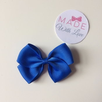 "2.5"" Bow Clip - Royal Blue"
