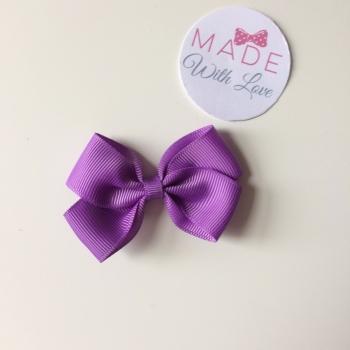 "2.5"" Bow Clip - Lilac"