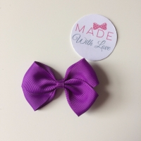 "2.5"" Bow Clip - Purple"