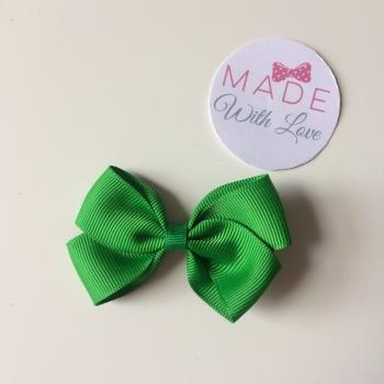 "2.5"" Bow Clip - Green"