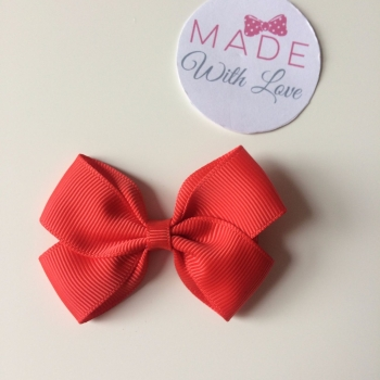 "2.5"" Bow Clip - Red"