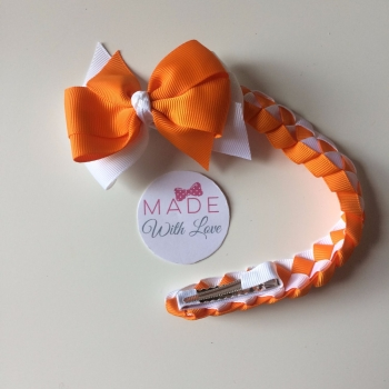 Plain Bun Wrap - Orange