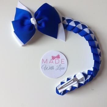 Plain Bun Wrap - Royal Blue