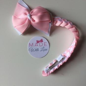 Plain Bun Wrap - Light Pink