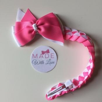 Plain Bun Wrap - Pink