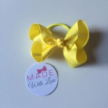 """3"""" Bobble - Yellow/Lemon"""