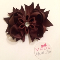 Flower Middle - Brown