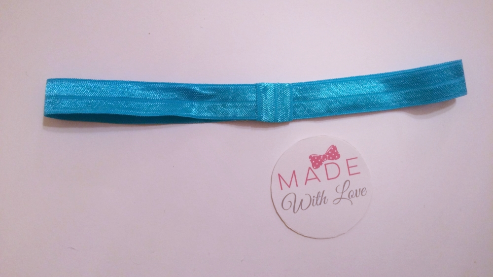 Changeable Soft Elastic Headband - Blue