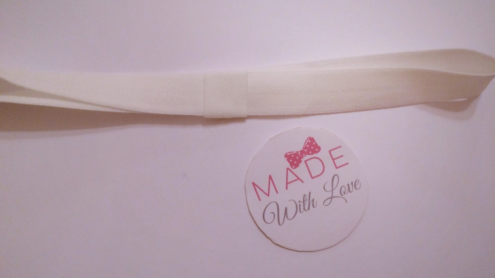 Changeable Soft Elastic Headband - Matt White