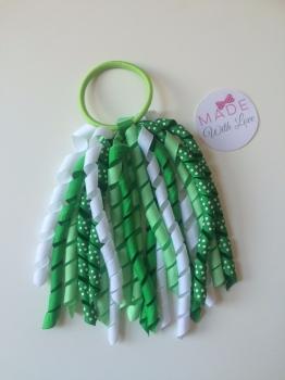 Corker Bobble - Green & White