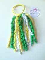 Corker Bobble - Green, Yellow & White