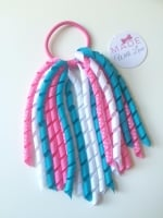 Corker Bobble - Pink, Blue & White