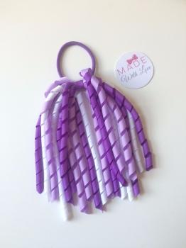 Corker Bobble - Purple, Lilac & White