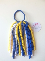 Corker Bobble - Royal Blue, Yellow & White