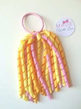 Corker Bobble - Yellow, Orange & Pink