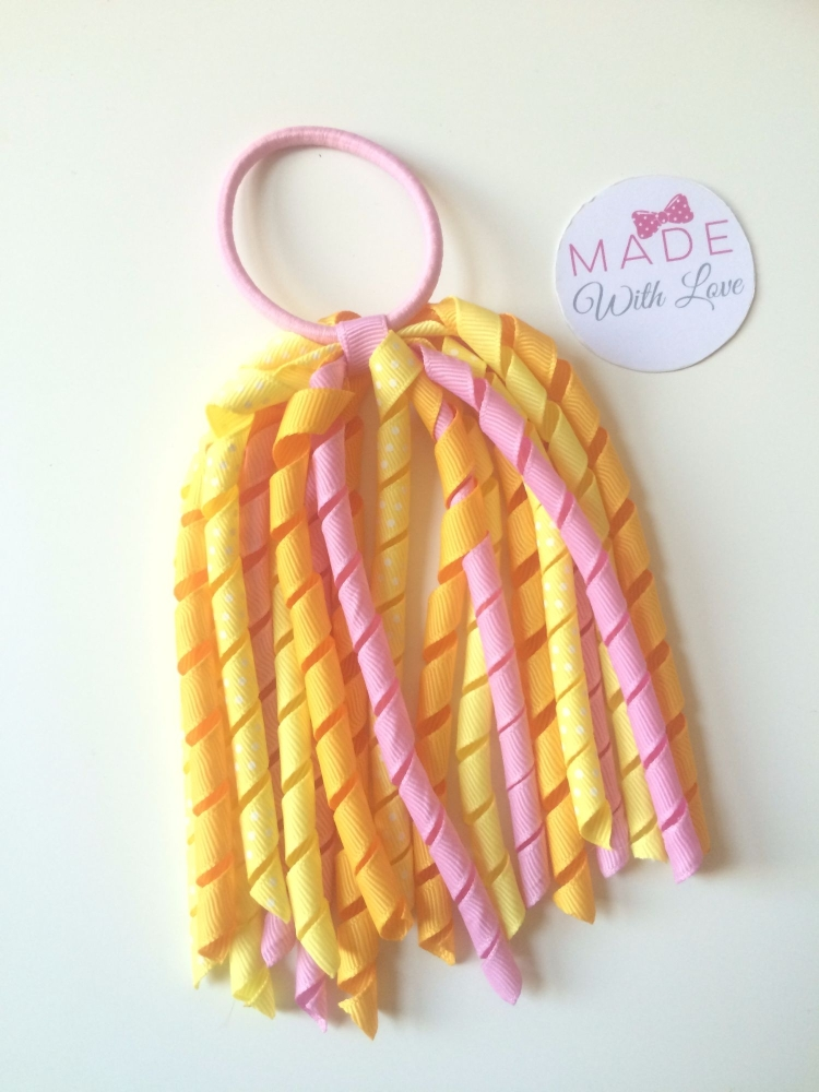 Corker Bobble - Yellow, Orange & Pink