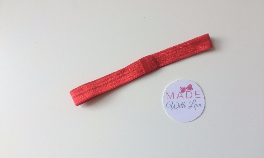 Changeable Soft Elastic Headband - Red