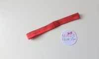 Changeable Soft Elastic Headband - Red