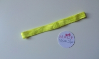 Changeable Soft Elastic Headband - Bright Yellow