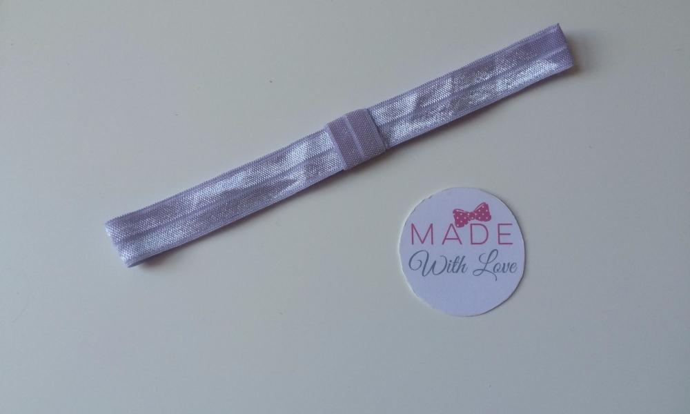 Changeable Soft Elastic Headband - Lilac