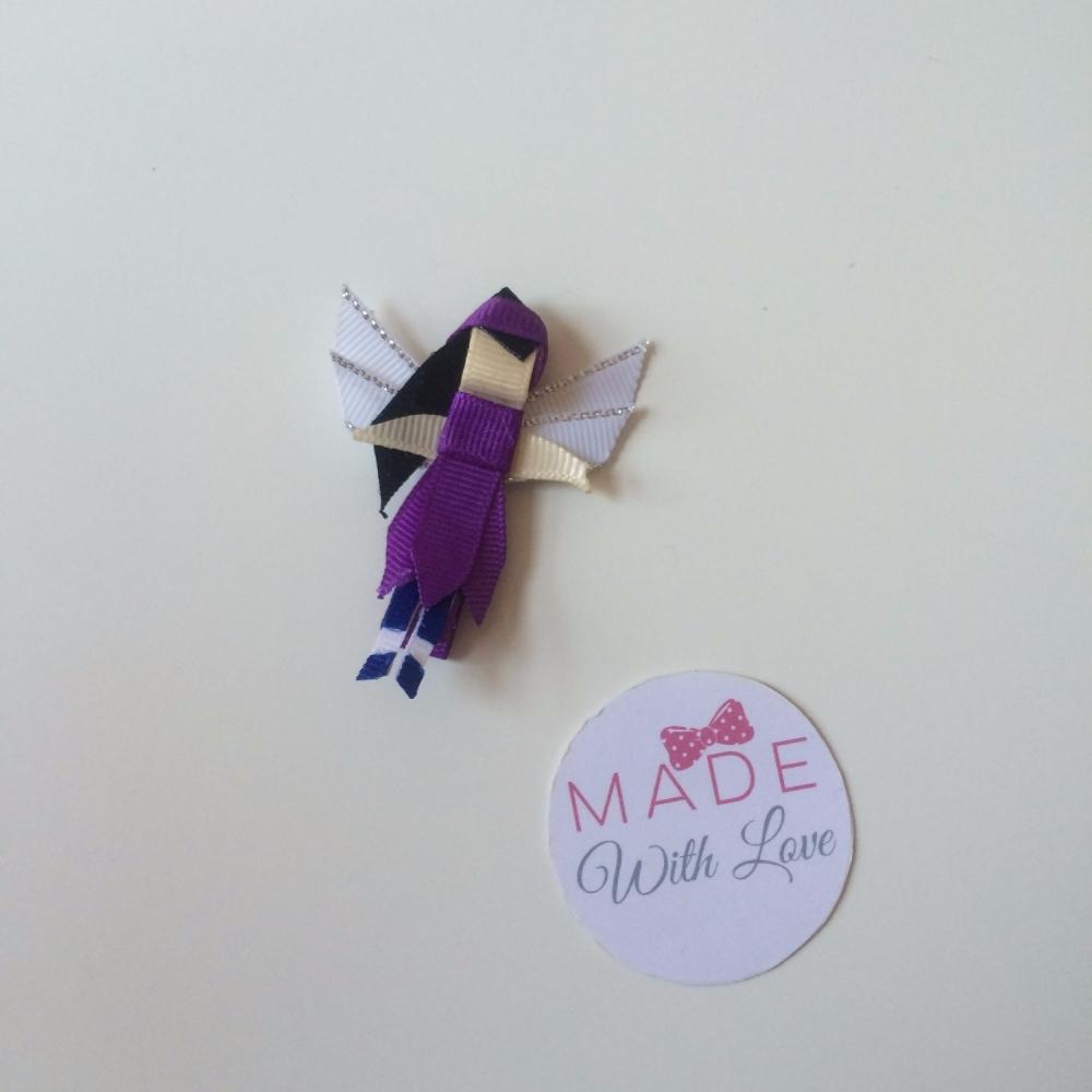 Purple Fairy Clip