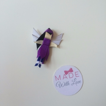 Purple Fairy Clip