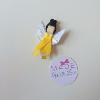 Yellow Fairy Clip