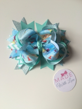 "5"" Double Stack Spike Princess Clip - Tinkerbell"