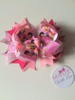 "5"" Double Stack Spike Princess Clip - All Princesses"
