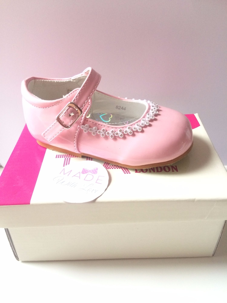 Tia London Mary Jane Style Shoes - Pink
