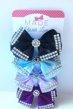 """4"""" Diamante Bow Pack"""