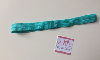 Changeable Soft Elastic Headband - Misty Turquoise