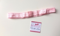 Changeable Soft Elastic Headband - Baby Pink