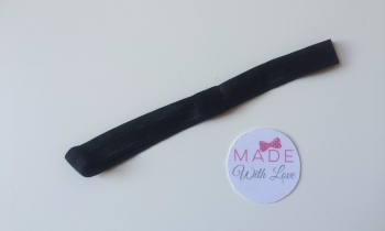 Changeable Soft Elastic Headband - Black
